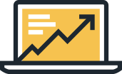 Increase profitability icon